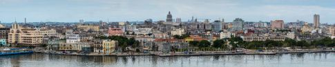 Vista panorámica La Habana